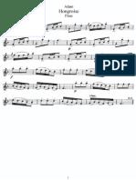Adam - Hongroise - Flute Part