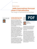 Mobile Innovations Forecast series
