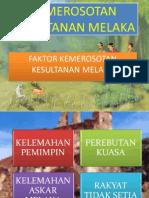 Kemerosotan Melaka