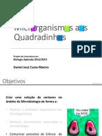 Projecto Microrganismos Aos Quadradinhos - Apresentacao Em PDF