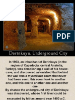 Derinkuyu Underworld