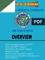 Rotc Orientation 2012