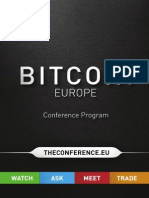European Bitcoin Convention Schedule (Final)