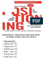 Book Review on positioning