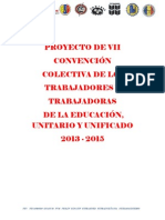 VII Convencion Colectiva Nacional Educacion 2013 2015