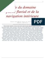 Domaine Public Fluvial