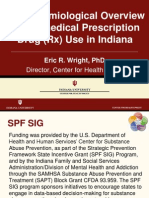 ER Wright Presentation on Epidemiology of Nonmedical Prescription Drug Abuse in Indiana 12-10-2010