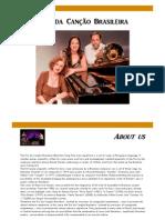Trio Da Cancao Release 2013