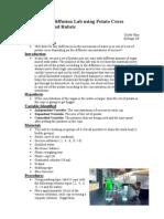 ib osmosis lab report