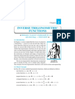 Ch 2-Inverse Trigonometric Functions