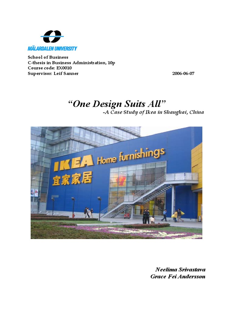 ikea strategy Ikea believes that low prices are possible even with high product quality this combination became ikea's veritable strategy and drive for its sustainable business growth.