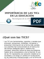 JOSE_ BARRAZA_IMPORTANCIA DE LAS TICs EN LA EDUCACIÓN_TAREA_04