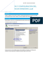 Instalacion y Configuracion Del Servicio DNS en Windows 2008 Server