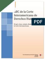 ABC Corte Interamericana DDHH 2013
