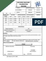 Certificatewelding machine certificates
