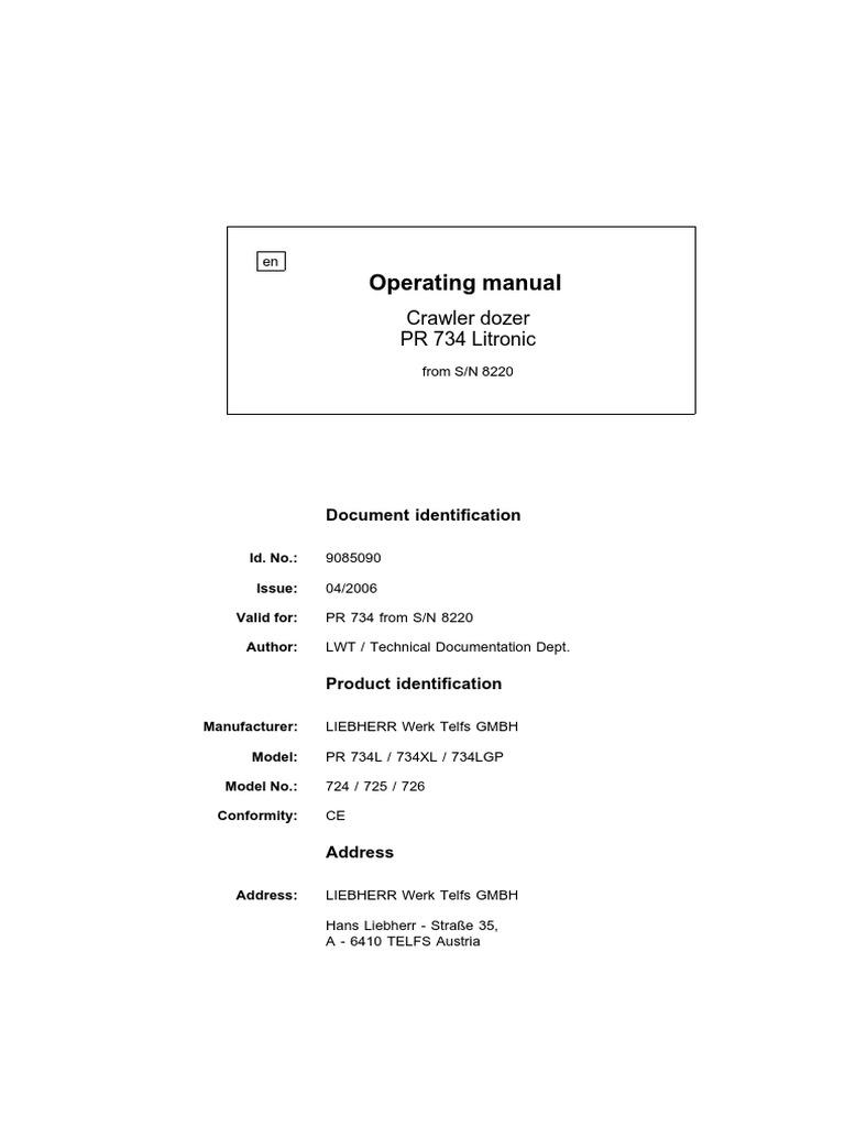 734 Opp  Man  Gb   Transmission (Mechanics)   Screw