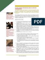La Mala Conducta - Orientaciones Sobre El Control Del Comportamiento