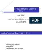 Practical Machine Learning Tutorial