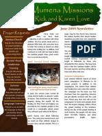 Love Newsletter 2009-06