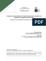 O Impacto da Conexidade no Comportamento do Consumidor em Relação aos Programas de Televisão