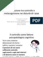 Sassaroli / Congresso Metacognizione Rimini