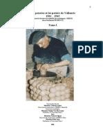 Les Poteries Et Les Potiers de Vallauris - 1501-1945 - Tome I