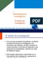 6 El diseño de investigación