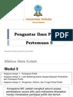 Pertemuan 5-Partisipasi Politik dan Partai Politik-Rev1.pptx