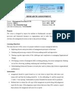Research Assignment MPOB(s)-1