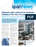 Kingspan Newsletter August