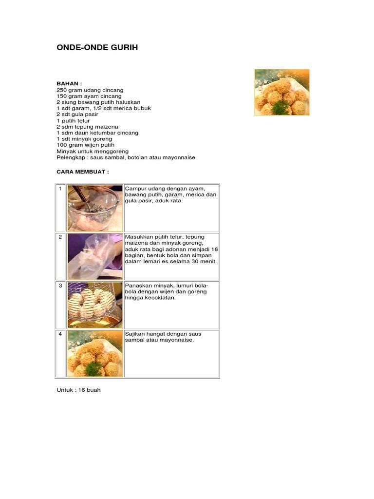 Buku Masak Pdf Resep Kue Basah