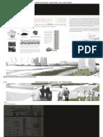Rainbow Recycling Skyscraper – Skybridge Network - eVolo _ Architecture Magazine2