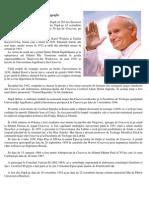 Papa Ioan Paul al II-lea – Biografie