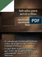 Salvados Para Servir a Dios Aniversario 20 IBE Callao 2013