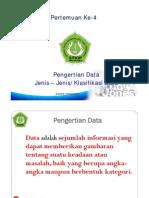 Materi p4 Klasifikasi Pengertianjenis Data