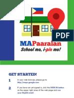 DepEd MAPaaralan Manual