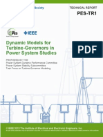 IEEE PES Dynamic Models for Turbine-Governors in Power System Studies PES-TR1 Jan 2013