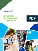 Unilever USLP Progress Report 2012