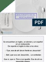 Jesucristo en El Restaurante - Solocachondeo.Com