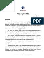 Projet Strategique Pole Emploi 2015