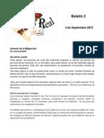 Boletin 2 de Correo Real, Temporada 2013-2014