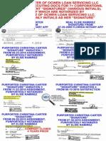 Christina Carter & Elsie Ramirez Signature Comparison