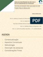Proposta de uma estrutura de medição para qualidade no SPB  software público brasileiro