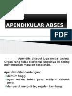 APENDIKULAR ABSES