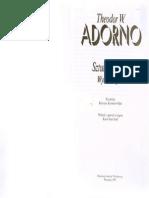 Adorno T.W. - Sztuka i Sztuki