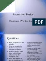 15 Regression Basics