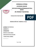 GENERACIÓN DE TURBINAS A GAS