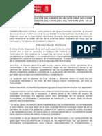 RETIRADA O SUSPENSIÓN DEL CATÁLOGO DEL SISTEMA VIAL DE LA COMUNIDAD VALENCIANA