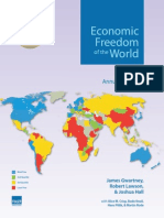 Fraser Institute, Canada, Sep 2013. Economic freedom of the world
