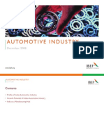 Automotive Industry Full Jan 2009
